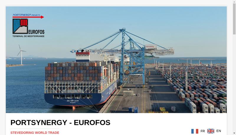 Capture d'écran du site de Eurofos