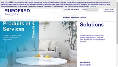 Site internet de Eurofred France