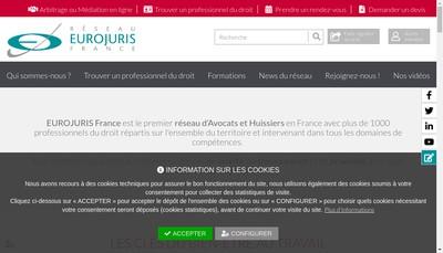 Site internet de Eurojuris France
