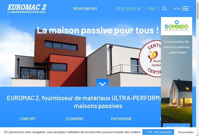 Capture d'écran du site de Eurostyrene