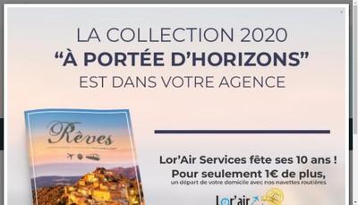 Site internet de Euro Moselle Loisirs