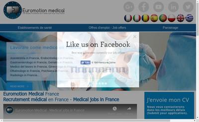 Site internet de Euromotion
