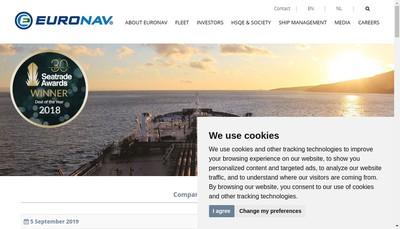 Site internet de Euronav