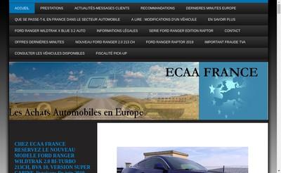 Site internet de Europe Conseils Achats Automobiles