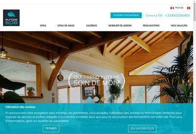 Site internet de Europe Spa