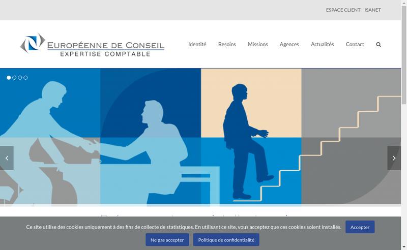 Capture d'écran du site de Euro Grenoble