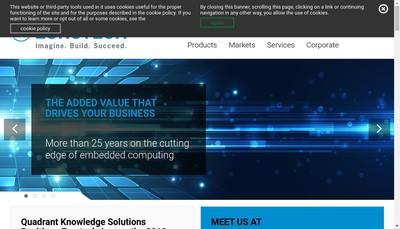 Site internet de Eurotech France