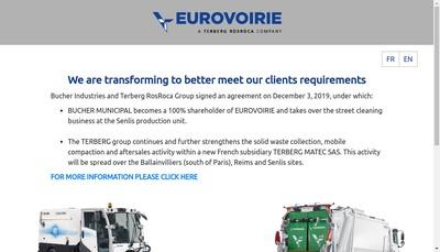 Site internet de Eurovoirie