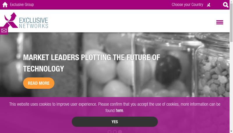 Capture d'écran du site de Networks Technology