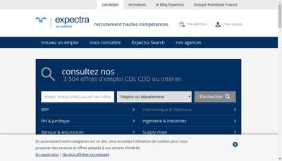 Site internet de Expectra Tt - Appel Medical - Jbm Bureau Medical