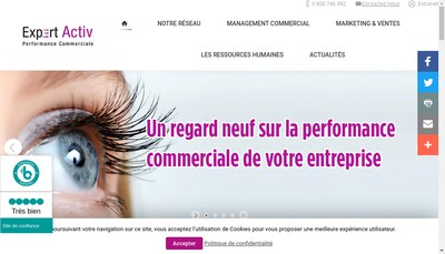 Site internet de Expert Activ