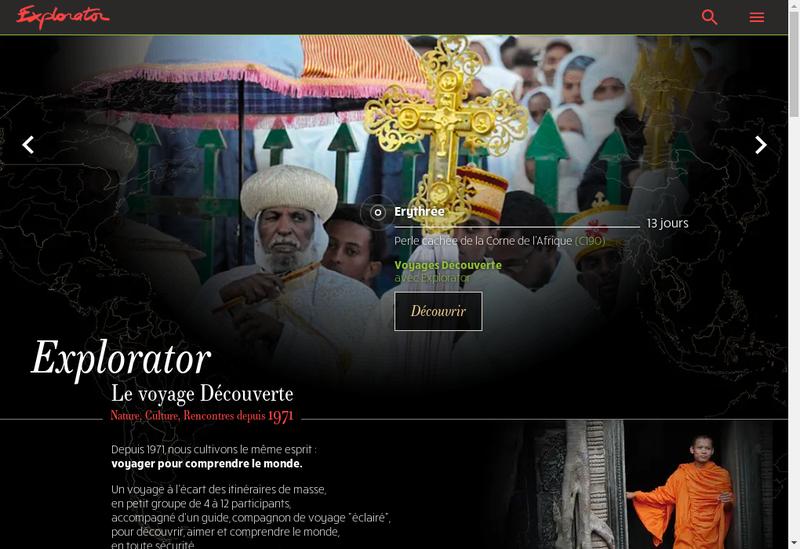 Capture d'écran du site de Kore Opera du Monde Haute Couture