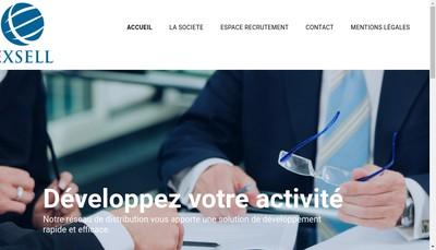 Site internet de Exsell