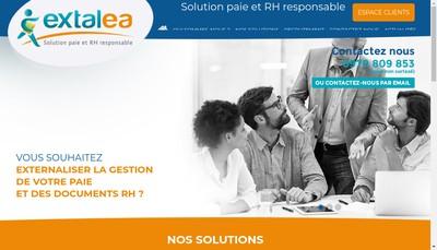 Site internet de Extalea