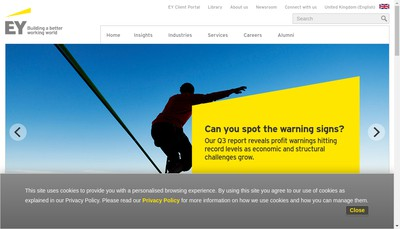 Site internet de Ey France