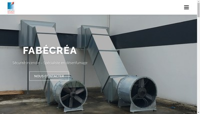 Site internet de Fabecrea