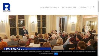 Site internet de Fabien Ramade Productions