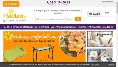 Site internet de Facilavi