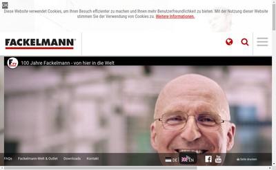 Site internet de Fackelmann France
