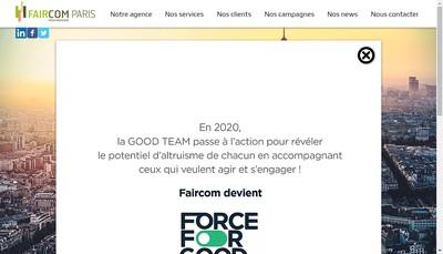 Site internet de Force For Good