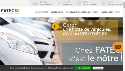 Site internet de Fatec Group