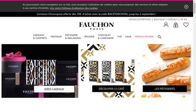 Site internet de Fauchon