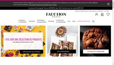 Site internet de Groupe Fauchon