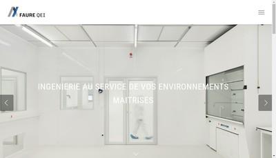 Site internet de Faure Qei