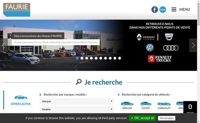 Site internet de Faurie Cantal
