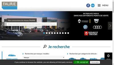 Site internet de Faurie 24