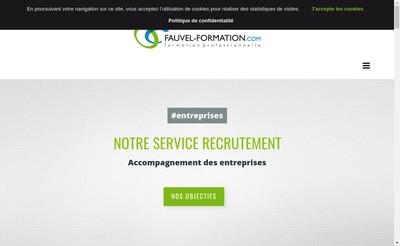 Site internet de Fauvel Formation
