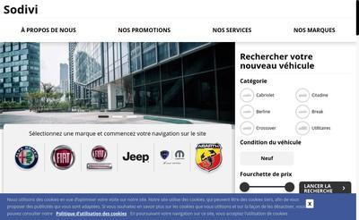 Site internet de Sodivi 39