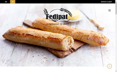 Site internet de Fedipat Referencement