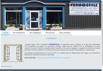 Site internet de Fermostyle