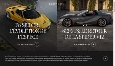 Site internet de Etablissements Ferrari
