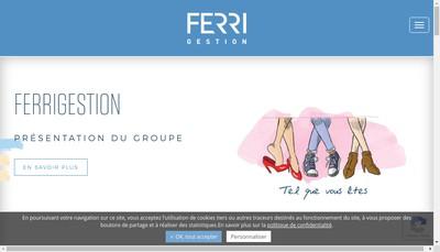 Site internet de Ferrigestion