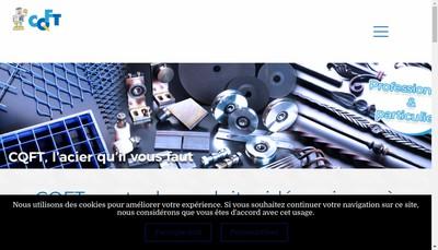 Site internet de Comptoir de Quincaillerie Fers et Tubes