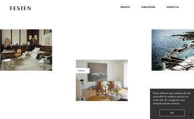 Site internet de Festen Architecture