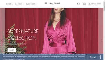 Site internet de Fete Imperiale