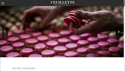 Site internet de Boulangerie Feuillette