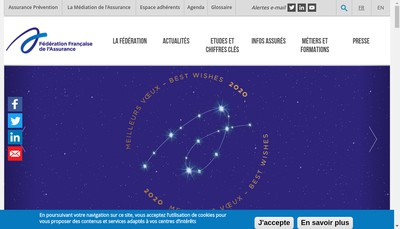 Site internet de Federation Francaise de l'Assurance