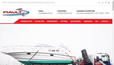 Site internet de Fiault SAS