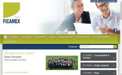 Site internet de Ficamex Audit