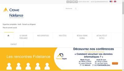 Site internet de Fideliance Norminter