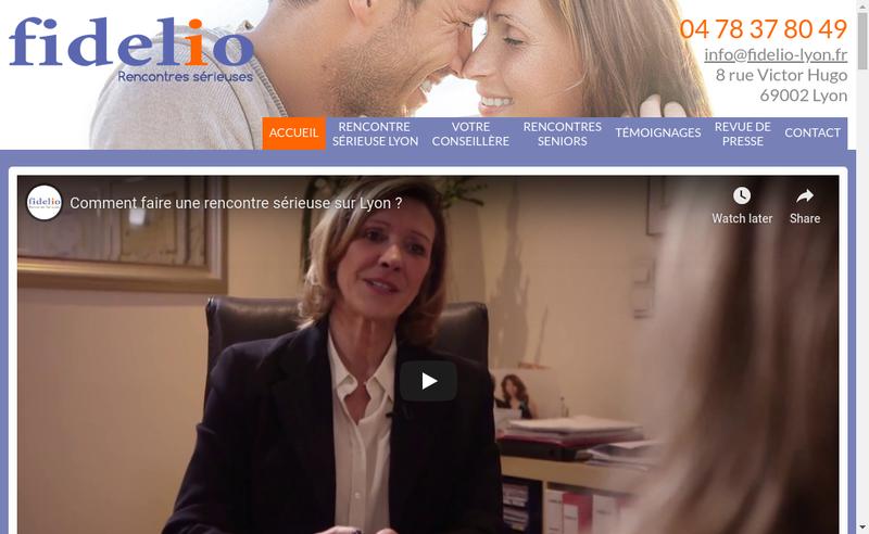 Capture d'écran du site de Valerie Baveux