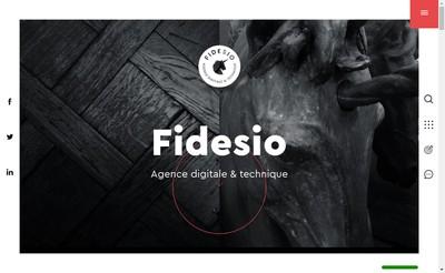 Site internet de Fidesio