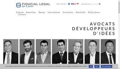 Site internet de Lamy & Associes