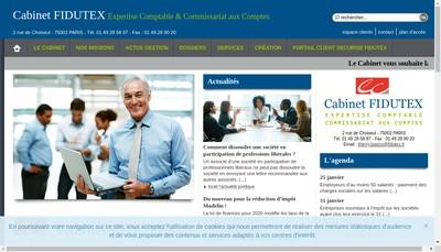 Site internet de Fidutex