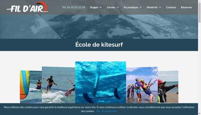Site internet de Fil d'Air