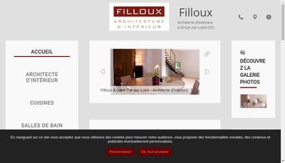 Site internet de Filloux
